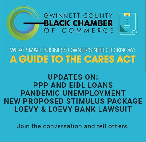 Gwinnett County Black Chamber of Commerce graphic