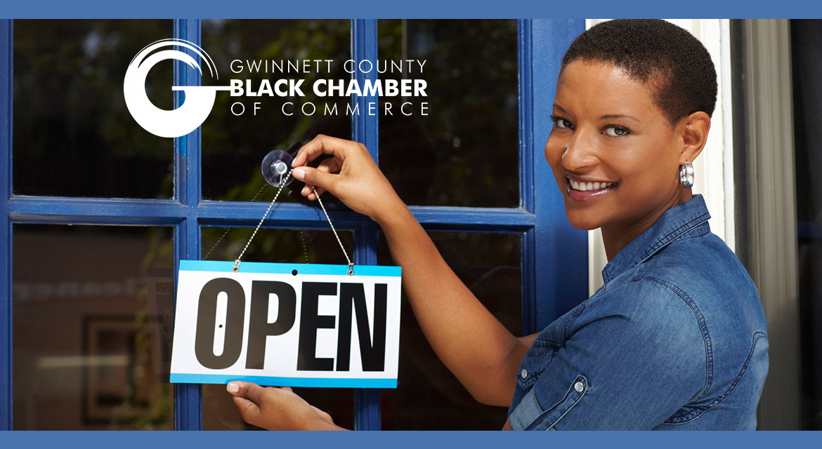 Gwinnett County Black Chamber of Commerce business woman